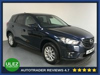 USED 2017 17 MAZDA CX-5 2.2 D SE-L NAV 5d AUTO 148 BHP EURO 6 - FULL SERVICE HISTORY - ONE OWNER - SAT NAV - REAR PARKING SENSORS - BLUETOOTH - CRUISE