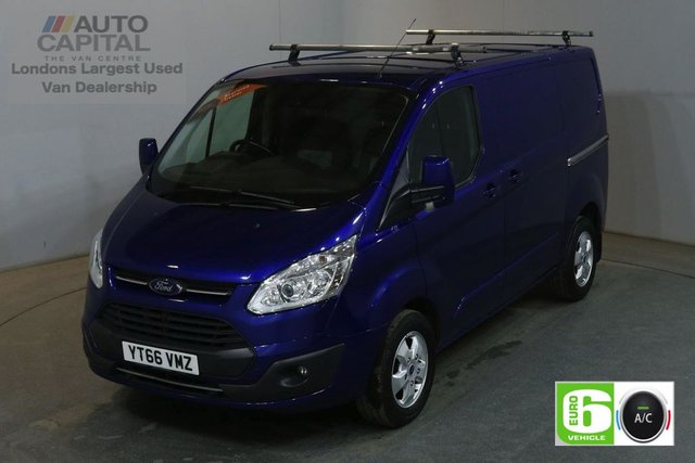 2016 66 FORD TRANSIT CUSTOM 2.0 270 LIMITED 130 BHP SWB L1 H1 L/ROOF AIR CON EURO 6 VAN AIR CONDITIONING EURO 6 LTD