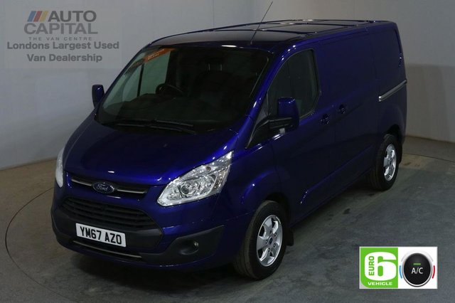2017 67 FORD TRANSIT CUSTOM 2.0 270 LIMITED 130 BHP SWB L1 H1 L/ROOF AIR CON EURO 6 VAN AIR CONDITIONING EURO 6 LTD