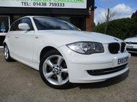 2011 BMW 1 SERIES 2.0 116I SPORT 5d 121 BHP £7500.00