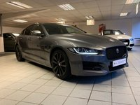 "USED 2016 65 JAGUAR XE 2.0 R-SPORT 4d AUTO 178 BHP 19"" WHEELS AND GLASS ROOF"