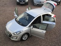 USED 2012 12 HYUNDAI I30 1.6 ACTIVE CRDI 5d AUTO 109 BHP 2 OWNERS FROM NEW, FSH, MOT TILL MARCH 2020, BLUETOOTH, CRUISE CONTROL, READ OUR 5* REVIEWS!!!