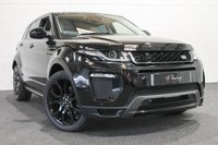 USED 2016 16 LAND ROVER RANGE ROVER EVOQUE 2.0 TD4 HSE DYNAMIC 5d AUTO 177 BHP **STEALTH BLACK PACK+IVORY LEATHER**