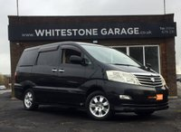 USED 2007 57 TOYOTA ALPHARD 2.4 AX L-EDITION  8 SEATS, 2.4, FRESH IMPORT FULLY UK REGISTERED, TWIN ELECTRIC SLIDING DOORS, REAR CAMERA, TOP GRADE