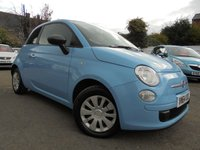 USED 2015 64 FIAT 500 1.2 POP 3d 69 BHP £30 YEARLY TAX - ONE OWNER