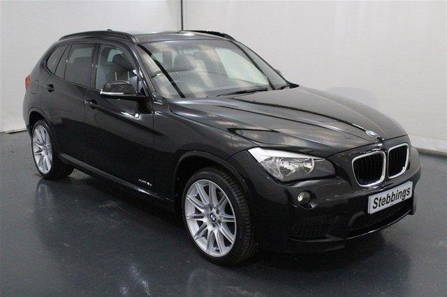 2013 63 BMW X1 2.0 XDRIVE18D M SPORT 5d AUTO 141 BHP