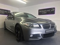 2012 BMW 5 SERIES 2.0 520D M SPORT 4d AUTO 181 BHP £12200.00