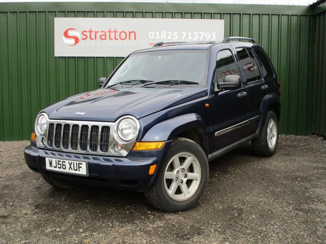 2006 56 JEEP CHEROKEE 2.8 LIMITED CRD 5d AUTO 161 BHP