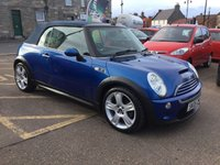 USED 2005 05 MINI CONVERTIBLE 1.6 COOPER S 2d 168 BHP GREAT LOW MILEAGE EXAMPLE WITH MANY EXTRAS IN SUPERB CONDITION