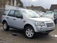 USED 2006 56 LAND ROVER FREELANDER 2.2 TD4 GS 5d 159 BHP ALL CARS SUPPLIED FROM EDINBURGH CAR STORE COME WITH 6 MONTH RAC WARRANTY 1 YEAR MOT 1 YEAR BREAKDOWN SERVICE AND AN OIL AND FILTER SERVICE PRIOR TO COLLECTION  FOR MORE  INFORMATION AND TO ARRANGE YOUR TEST DRIVE CALL US NOW ON 01314534363