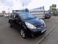 2010 NISSAN NOTE 1.6 N-TEC 5d AUTO 110 BHP £4695.00