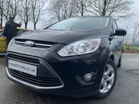 USED 2014 64 FORD C-MAX 1.6 ZETEC TDCI 5d 115 BHP 2KEYS+30TAX+1OWNER+FSH+AIRCON+