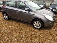 2009 HYUNDAI I20 1.4 COMFORT 5d AUTO 99 BHP £3750.00