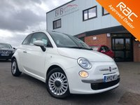 USED 2012 12 FIAT 500 0.9 LOUNGE 3d 85 BHP ALLOY WHEELS | REMOTE LOCKING | AIR CONDITIONING | ELECTRIC WINDOWS | PANORAMIC ROOF | BLUETOOTH | USB | DIGITAL CLIMATE CONTROL | AUX