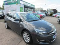 USED 2013 63 VAUXHALL ASTRA 1.6 SE 5d 113 BHP CALL 01543 454566... 12 MONTHS MOT... 6 MONTHS WARRANTY... FULL SERVICE HISTORY... ESTATE