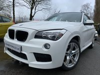 USED 2013 13 BMW X1 2.0 XDRIVE20D M SPORT 5d 181 BHP 2KEYS+LEATHER+CLIMATE+PARK+HISTORY+BLUETOOTH+
