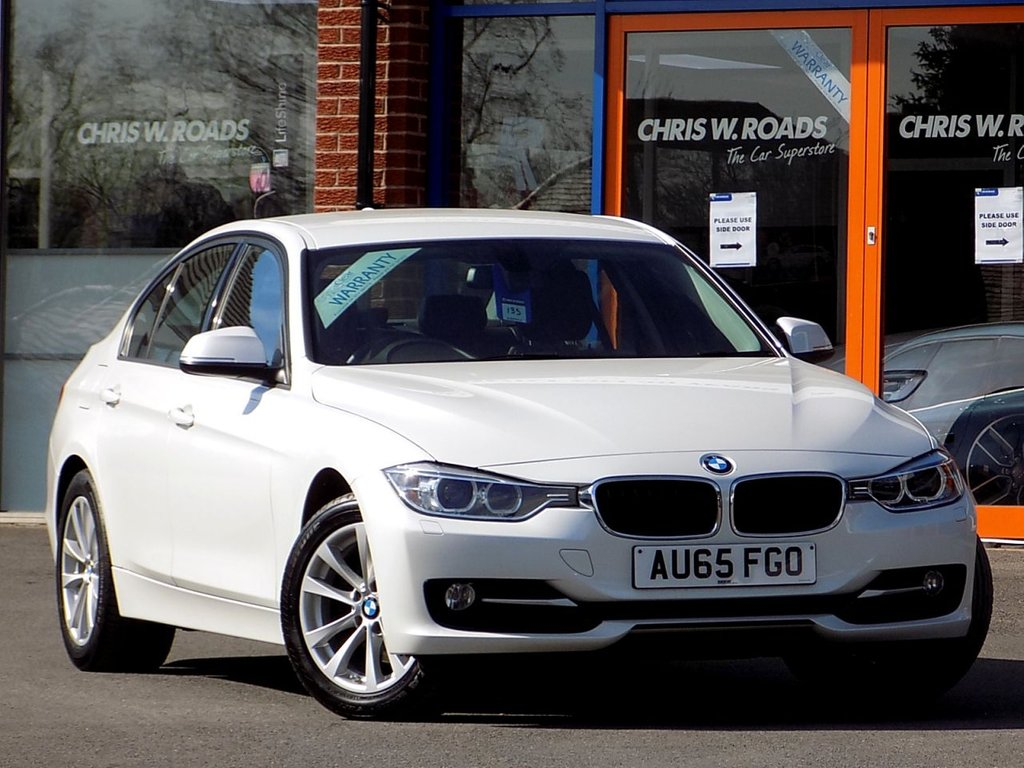 USED 2015 65 BMW 3 SERIES 320d Sport 4dr Step Auto (Business Media) ** Sat Nav + Leather **