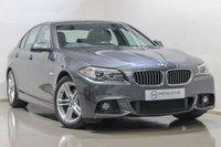 USED 2016 65 BMW 5 SERIES 2.0 520D M SPORT 4d AUTO 188 BHP