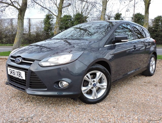 2011 FORD FOCUS 1.6 (100ps) Style Hatchback 5d 1596cc