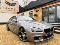 2015 BMW 6 SERIES 3.0 640D M SPORT GRAN COUPE 4d AUTO 309 BHP £22990.00