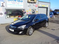 USED 2011 11 VAUXHALL ASTRA 1.6 SRI 5d 113 BHP  60K ONLY 60K