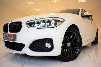 2016 BMW 1 SERIES 116D M SPORT 5 DOOR AUTOMATIC £15495.00