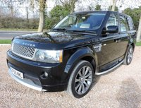USED 2010 59 LAND ROVER RANGE ROVER SPORT 3.6 TD V6 Autobiography Sport LE 5dr SAT NAV/ HEATED SEATS/ MEMORY &ELECTRIC SEATS/ CRUISE CONTROL/ BLUETOOTH/ PARKING SENSORS/ FULL SERVICE HISTORY/ NEW SERVICE/ 1 YEAR MOT/ WARRANTY/ HPI CLEARED