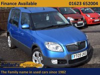 USED 2009 09 SKODA ROOMSTER 1.9 SCOUT TDI 5d 103 BHP