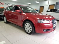 USED 2007 07 AUDI A3 1.6 SPECIAL EDITION 5d AUTO+CAMBELT CHANGED+SERVICE HISTORY+LOW MILES+