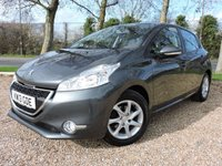 USED 2013 PEUGEOT 208 1.4 VTi (95bhp) Active Hatchback 5d 1397cc Road Tax £20 / Full Service History / New Service / 1 Year MOT / 2 Keys / Warranty / HPI Cleared