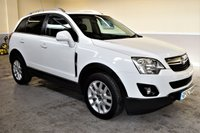 USED 2013 62 VAUXHALL ANTARA 2.2 EXCLUSIV CDTI 4WD S/S 5d 161 BHP Bright white 2012 Vauxhall Antara 2.2 Diesel with fantastic spec including parking sensors, heated seats and cruise control!