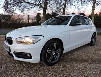 2015 BMW 1 SERIES 1.5 116d Sport Sports Hatch (s/s) 5dr (1 Owner)