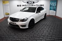 USED 2013 13 MERCEDES-BENZ C-CLASS 2.1 C220 CDI BlueEFFICIENCY AMG Sport Sport Coupe 7G-Tronic Plus 2dr 2 Owners, AMG Sport, SatNav
