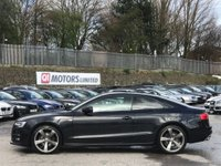 USED 2014 14 AUDI A5 2.0 TD Black Edition S Tronic quattro 2dr TechPack/B&O/Xenons/Leather
