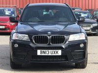 USED 2013 13 BMW X3 2.0 20d M Sport xDrive 5dr JustServiced/DABRadio/Cruise