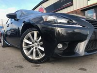 USED 2016 65 LEXUS IS 2.5 Executive Edition E-CVT 4dr REGISTERED FEBRUARY 2016 ~