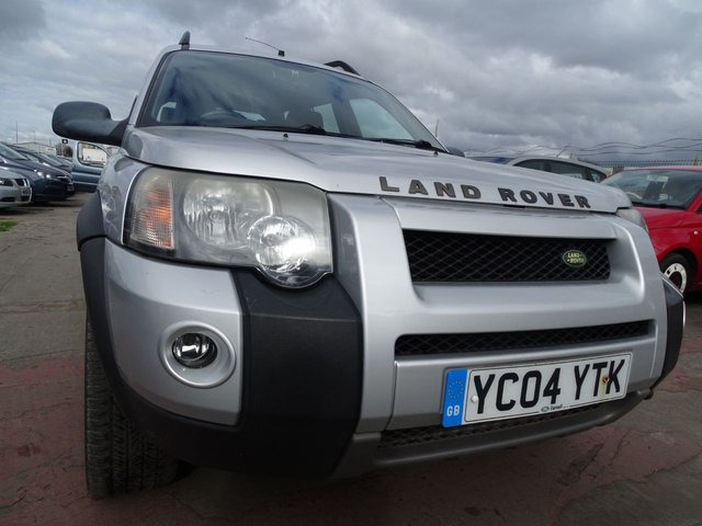 USED 2004 04 LAND ROVER FREELANDER 2.0 TD4 SPORT STATION WAGON CLEAN