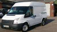 USED 2013 63 FORD TRANSIT 2.2 280 1d 99 BHP SWB MID/ROOF 1 OWNER F/S/H 7 STAMPS IN THE BOOK FREE 12 MONTHS WARRANTY COVER