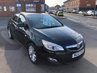 USED 2012 12 VAUXHALL ASTRA 1.4 ACTIVE 5d 98 BHP *** 12 MONTHS WARRANTY ***