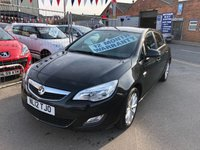 USED 2012 12 VAUXHALL ASTRA 1.4 ACTIVE 5d 98 BHP *** PAYMENTS LOW AS £82 A MONTH! *** 12 MONTHS WARRANTY ***