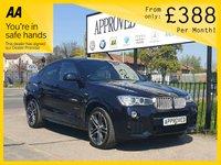 2015 BMW X4 3.0 XDRIVE30D M SPORT 4d AUTO 255 BHP £20795.00