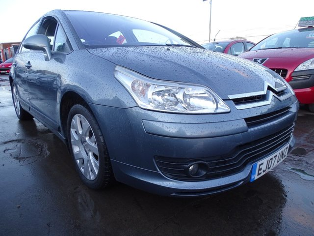 USED 2007 07 CITROEN C4 1.6 VTR PLUS GOOD SERVICE DRIVES WELL