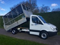 USED 2013 63 MERCEDES-BENZ SPRINTER 313 CDI MWB * Caged Tipper * Air Con *