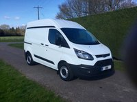 USED 2014 64 FORD TRANSIT CUSTOM T270 TDCI 100ps * High Roof * Twin Side Doors *