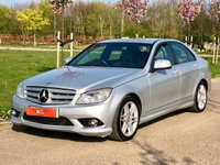 USED 2007 57 MERCEDES-BENZ C-CLASS 2.1 C220 CDI SPORT AUTO 168 BHP 4 DR SALOON XENONS+ HEATED SEATS+ S/H+
