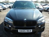 USED 2015 65 BMW X5 3.0 XDRIVE30D M SPORT 5d AUTO 255 BHP 1 Previous owner - FSH - 360 Camera - Xenons