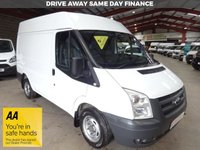 """USED 2011 11 FORD TRANSIT 2.2 280 SHR  85 BHP - SWB - NO VAT TO PAY - """"YOU'RE IN SAFE HANDS"""" - AA DEALER PROMISE"""