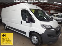 "USED 2016 65 CITROEN RELAY 2.2 35 L3H2 ENTERPRISE HDI 130 BHP LWB HI ROOF VAN ""YOU'RE IN SAFE HANDS"" - AA DEALER PROMISE"