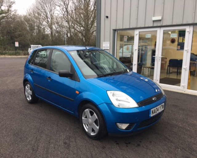 2004 04 FORD FIESTA 1.4 FLAME 5dr