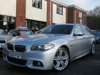 USED 2013 63 BMW 5 SERIES 2.0 520D M SPORT TOURING 5d AUTO 181 BHP